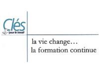 Logo clés pour le travail